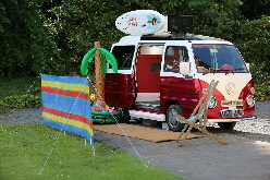 Photo Booth Hire in a camper van
