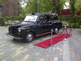 One of our London Taxi Photo Booths for hire