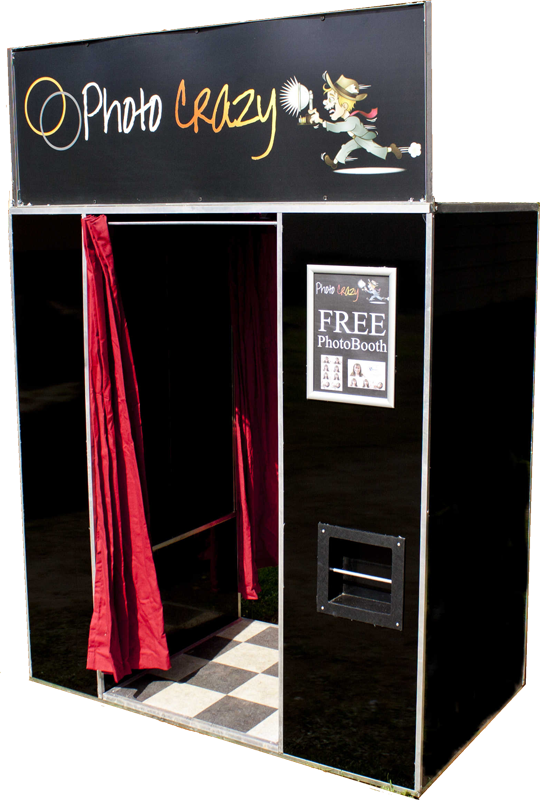 One of our range of photo booth sytems for hire
